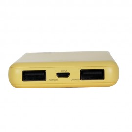 POWERBANK TEEN GE-T02 5000 mAh GOLD EDITION AMARELO